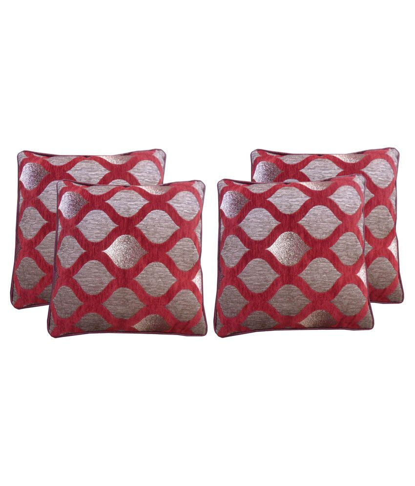 Satcap Multicolour Floral Cushion Cover - Set Of 4