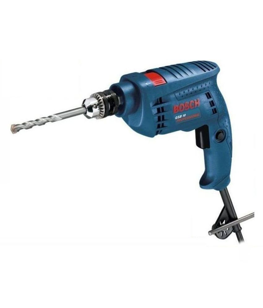 Bosch GSB10 Impact Drill Machine (With 23 Pcs Drill Bits)