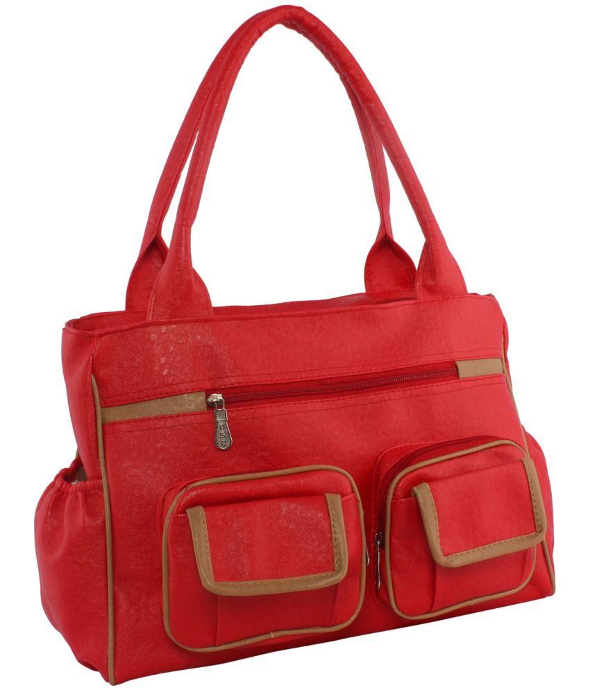 Incraze Red Shoulder Bag