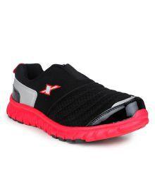 Sparx Black Sport Shoes