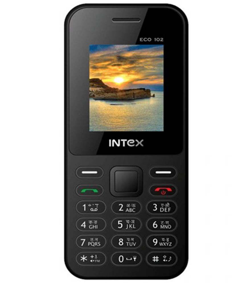 Intex Eco 102 (Black)