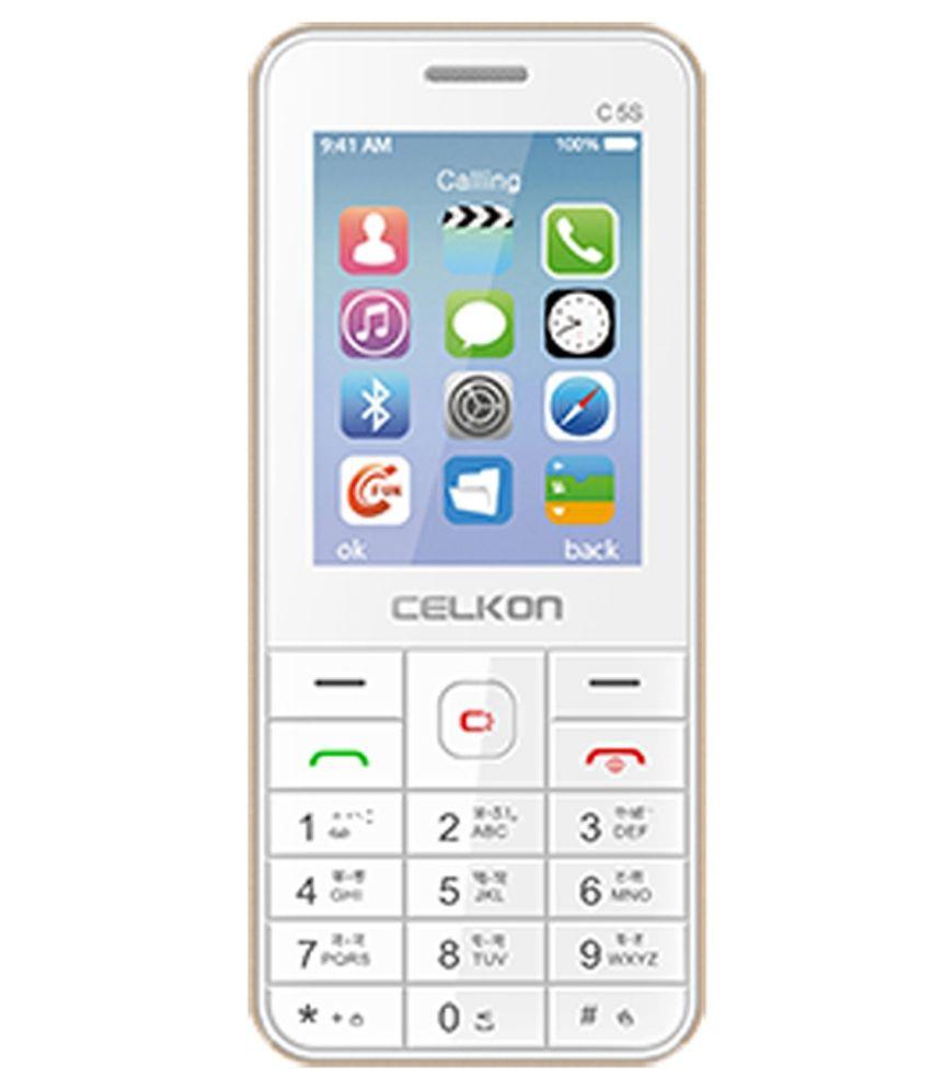 Celkon C5s White