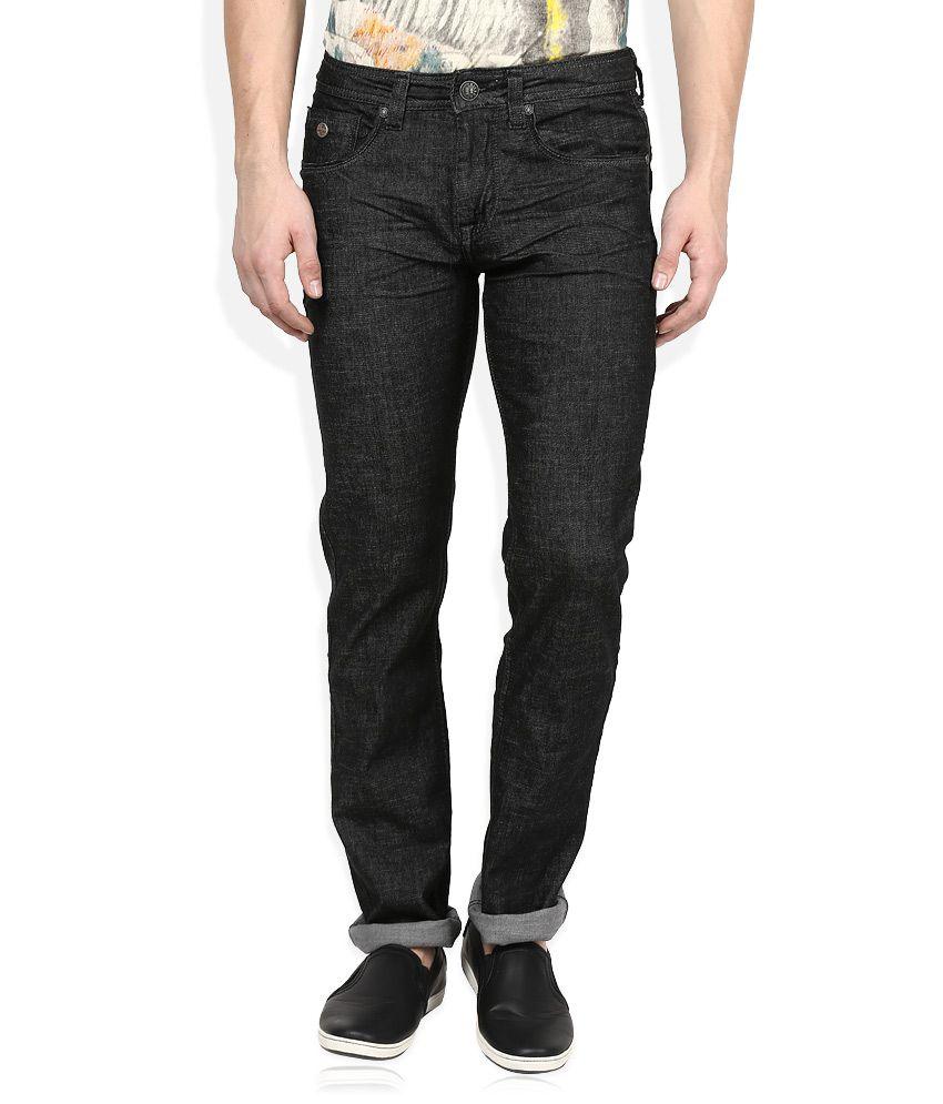 Killer Black Raw Denim Regular Fit Jeans