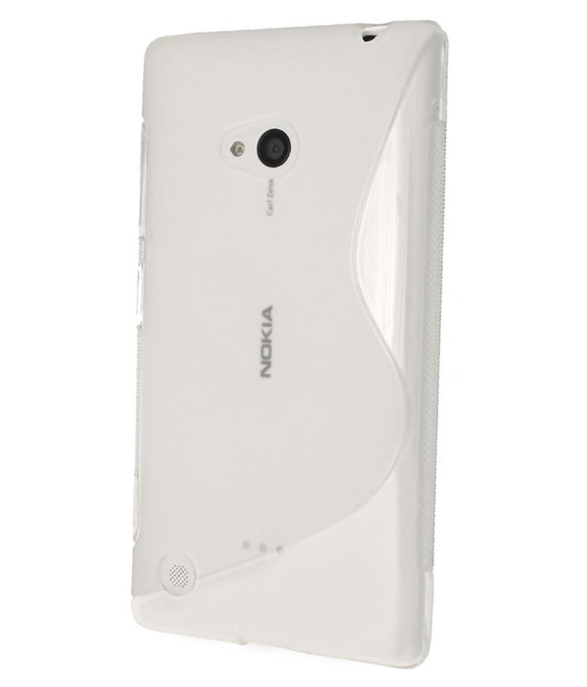 KolorFish Back Cover for Nokia Lumia 720   Transparent available at SnapDeal for Rs.219