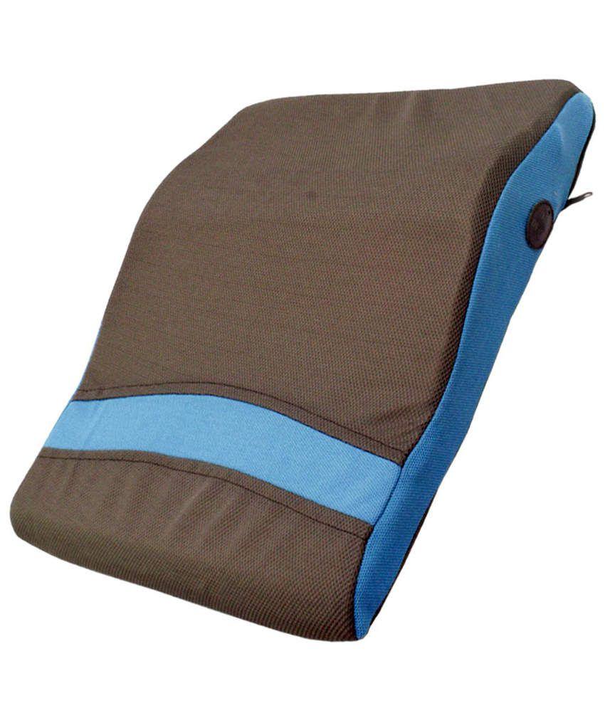 JM Car Head Neck Seat Back Pillow Cordless Massage ...