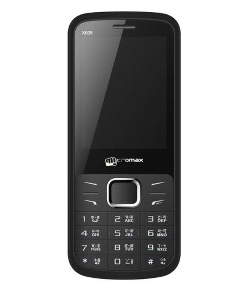Micromax X605 Black