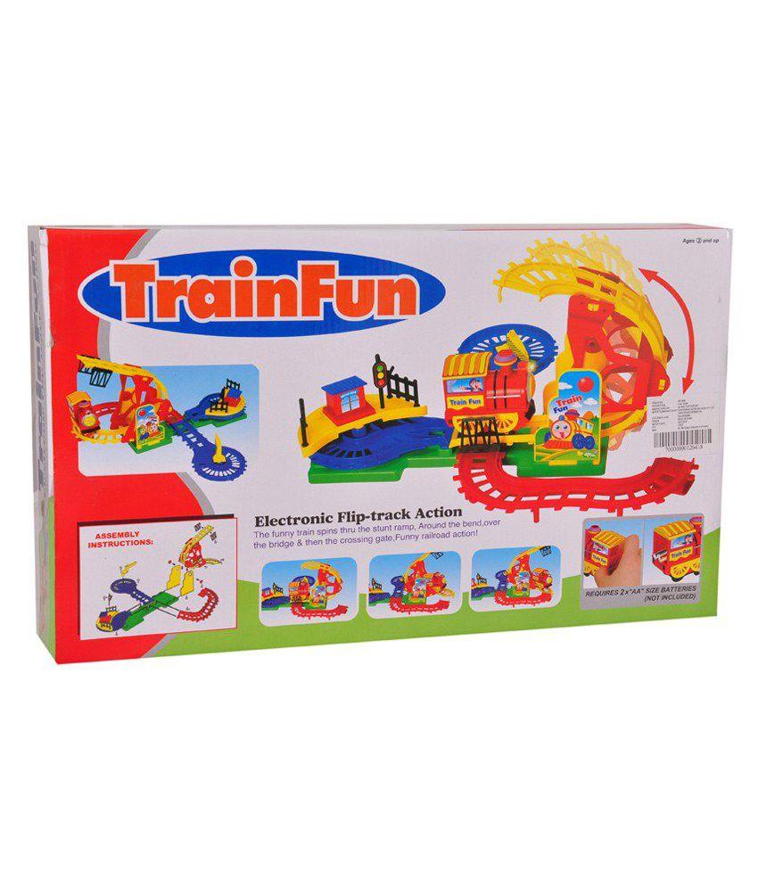Zest4toyz Multicolour Train Track Electronic Flip Track - Buy