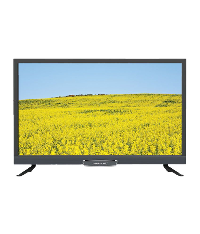 Videocon 32 Inches HD Ready LED TV (VMA32HH02CAH, Black)