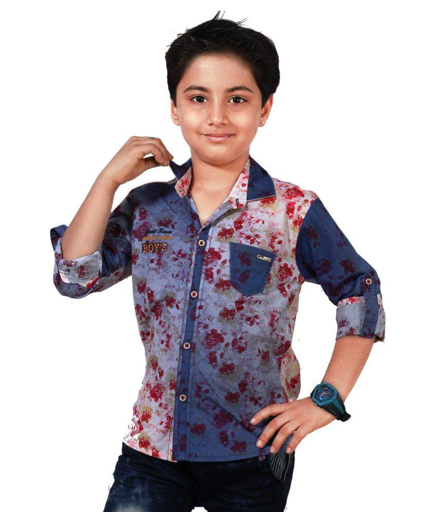 Apple Designer Clothing Multicolour Shirt