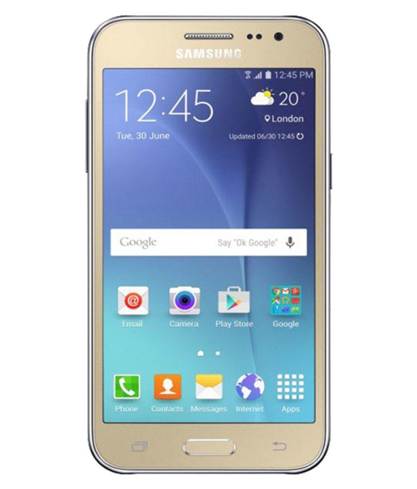 samsung j200g 4g 8gb gold snapdeal price phones deals at. Black Bedroom Furniture Sets. Home Design Ideas