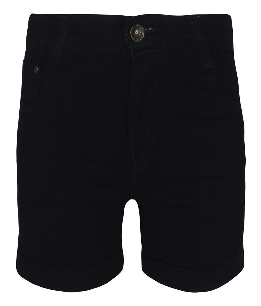 Jazzup Black Shorts