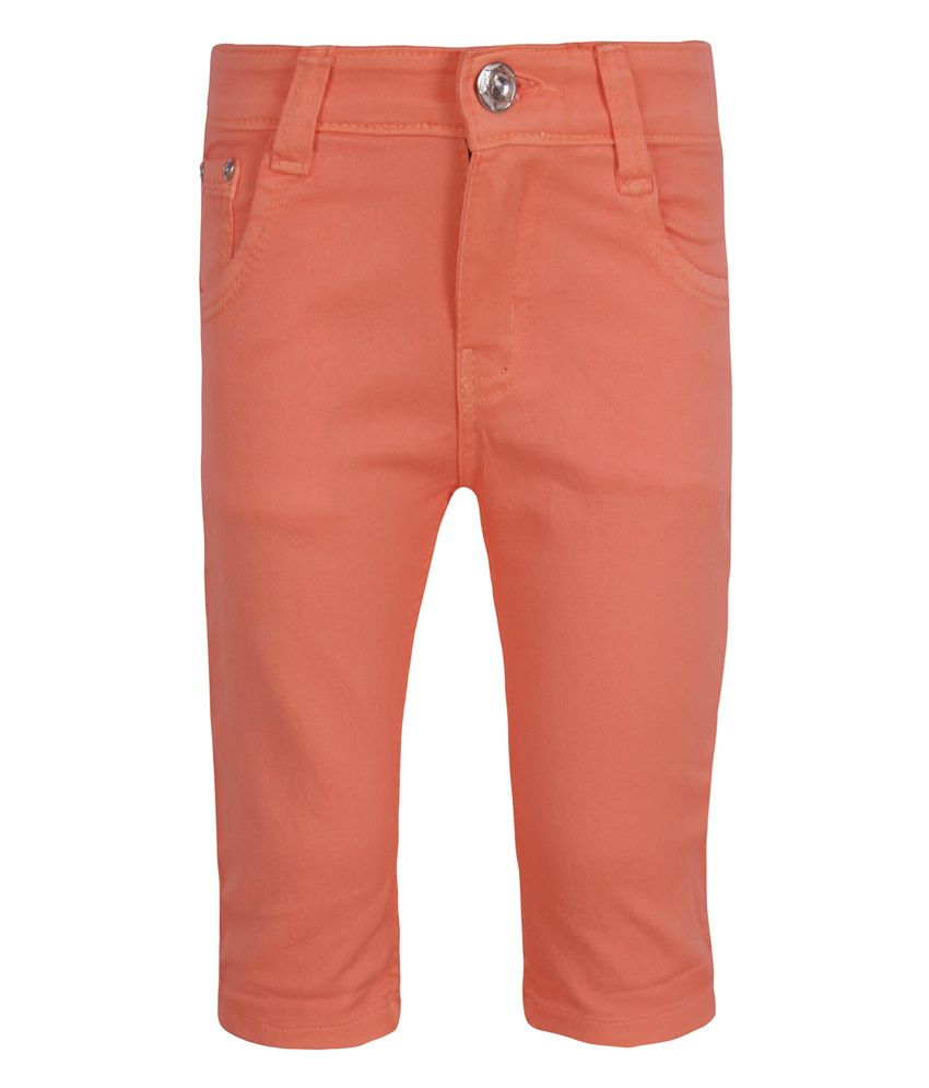 Jazzup Orange Capris