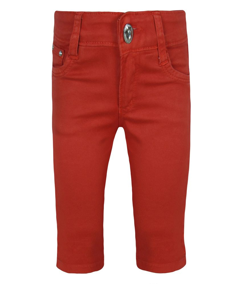 Jazzup Red Capris