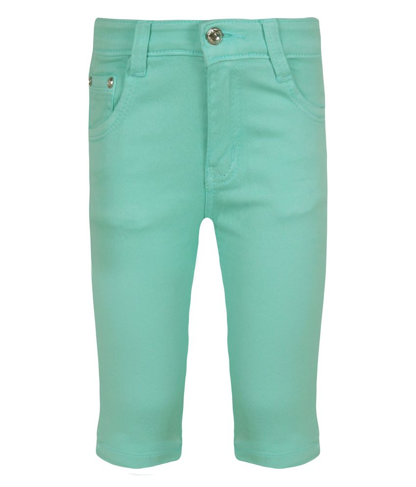 Jazzup Turquoise Capris