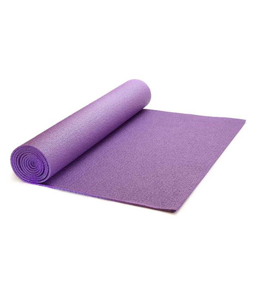 New Ladies Zone Purple Yoga Mat  Buy Online at Best Price on Snapdeal f4f12995ed