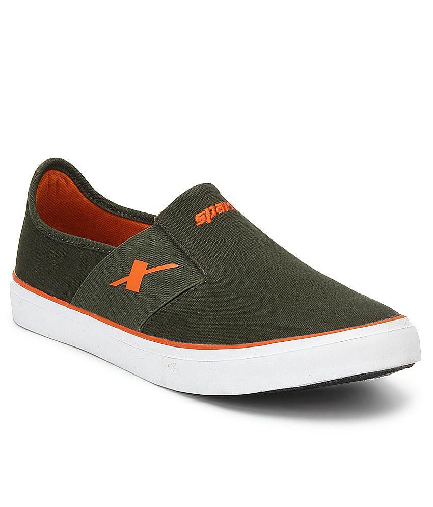 Sparx Canvas Shoes Without Laces