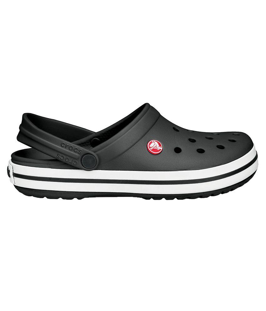 d7c48dfc5a27c3 Crocs Relaxed Fit Crocband Black Clog Crocs Relaxed Fit Crocband Black Clog  ...