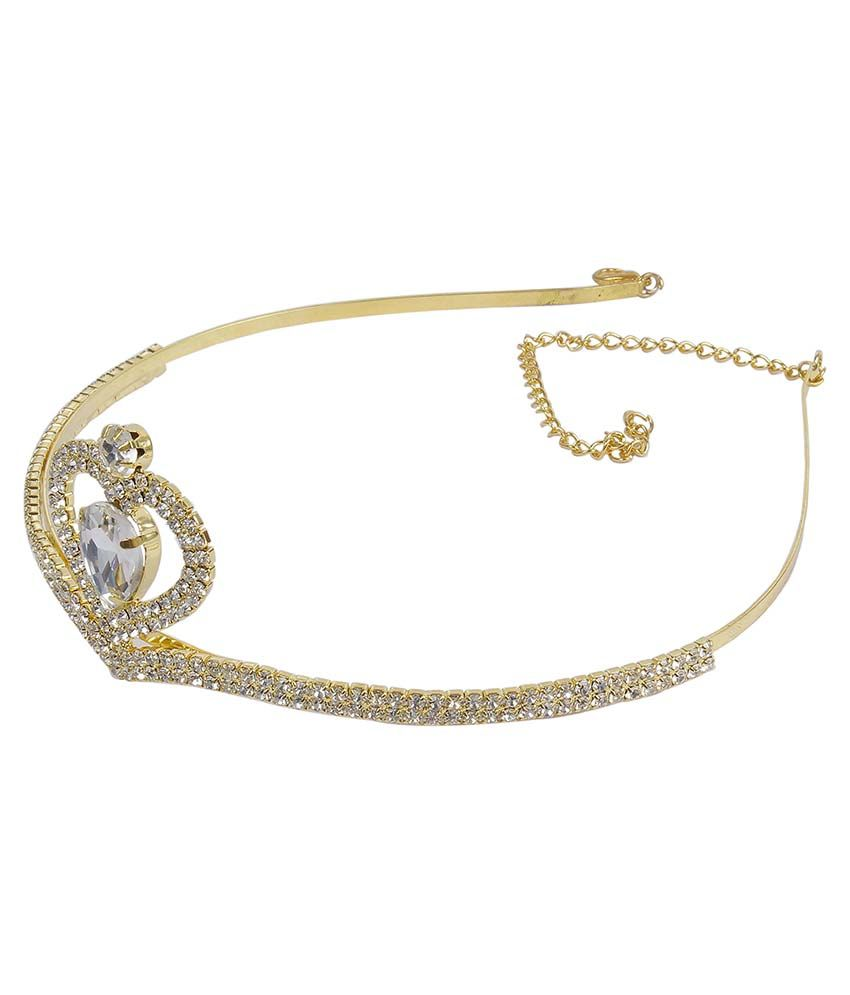 Hair accessories online snapdeal -  Much More Indian Designer Gold Plated Fashion Crown Women Kids Hair Accessories