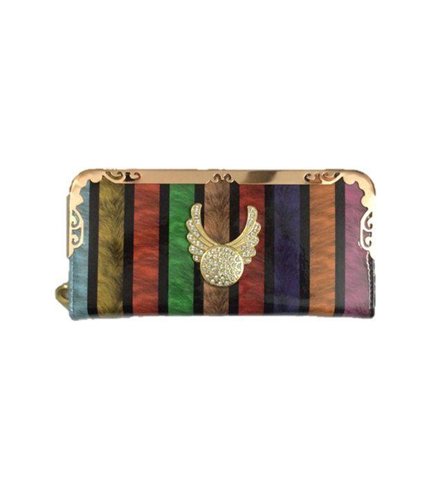 Slunk  Multi Non Leather Long Wallet