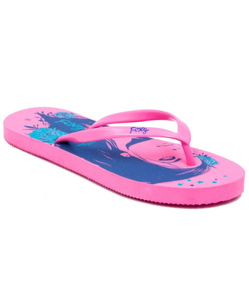 Fizik Trendy Pink Flip Flops  available at snapdeal for Rs.99