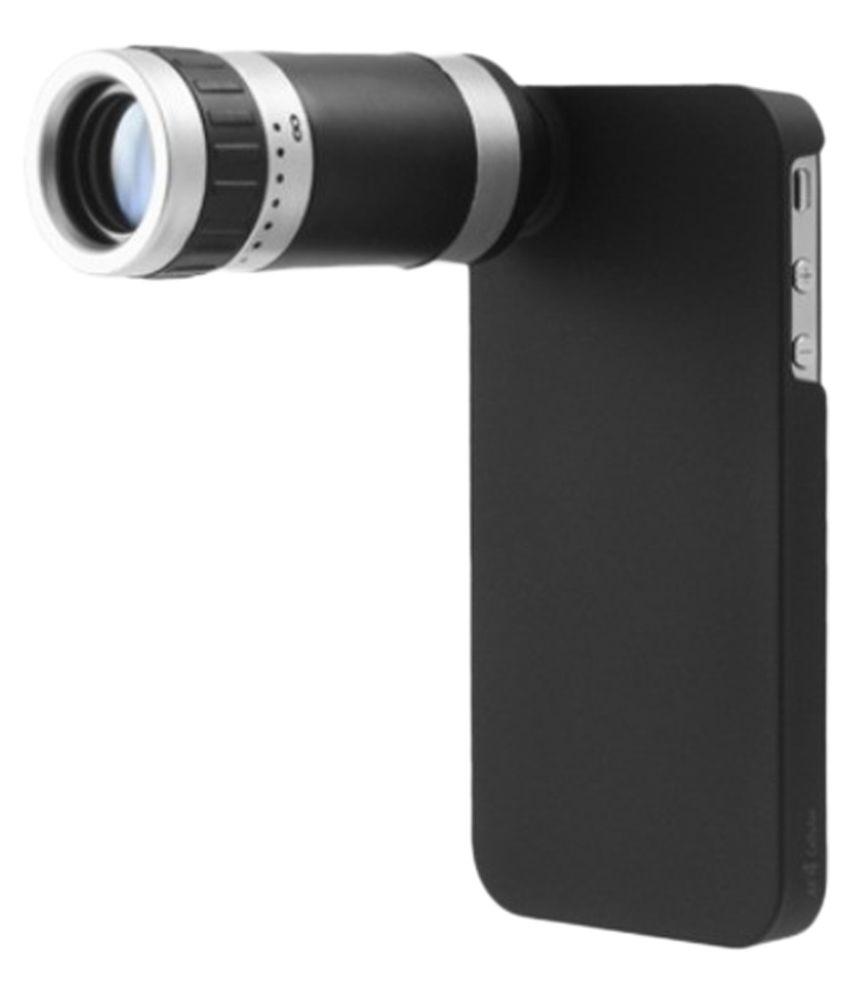 Smiledrive Optical Zoom Lens Kit For Apple iPhone 5 5s - Black