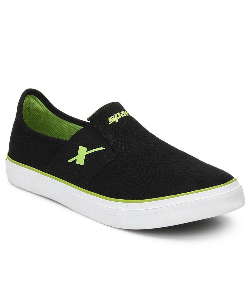 sparx black lifestyle shoes buy sparx black lifestyle