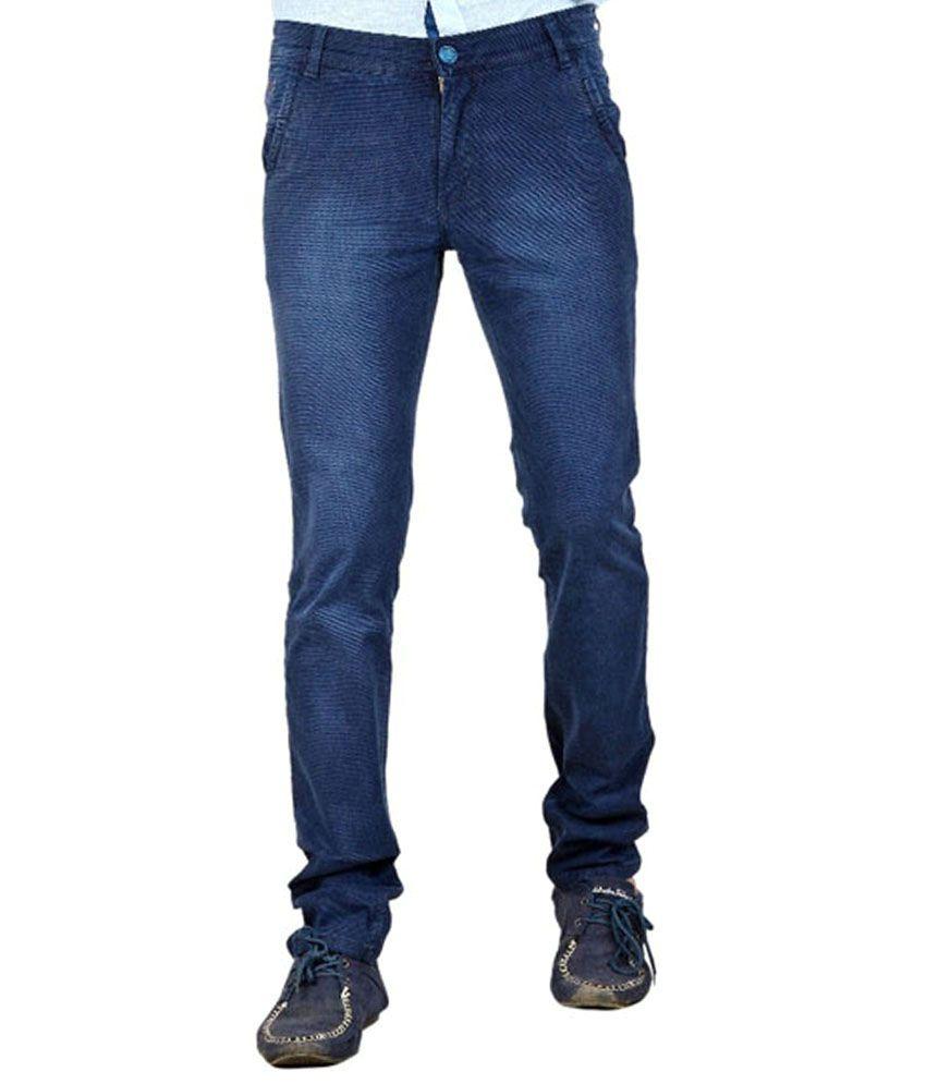 Channel C Blue Slim Fit Jeans