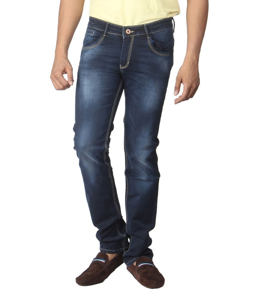 Dimitri Blue Regular Fit Jeans
