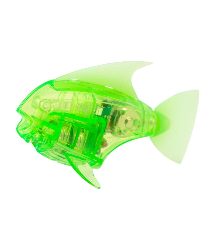 Hexbug aquabot robotic angelfish green best price in india for Hex bug fish