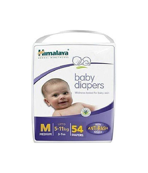 Himalaya Baby Diapers - Medium 54 Pcs