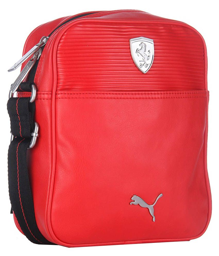 d4979ebd90 Puma Ferrari LS Portable Sling Bag - Red - Buy Puma Ferrari LS Portable  Sling Bag - Red Online at Low Price - Snapdeal