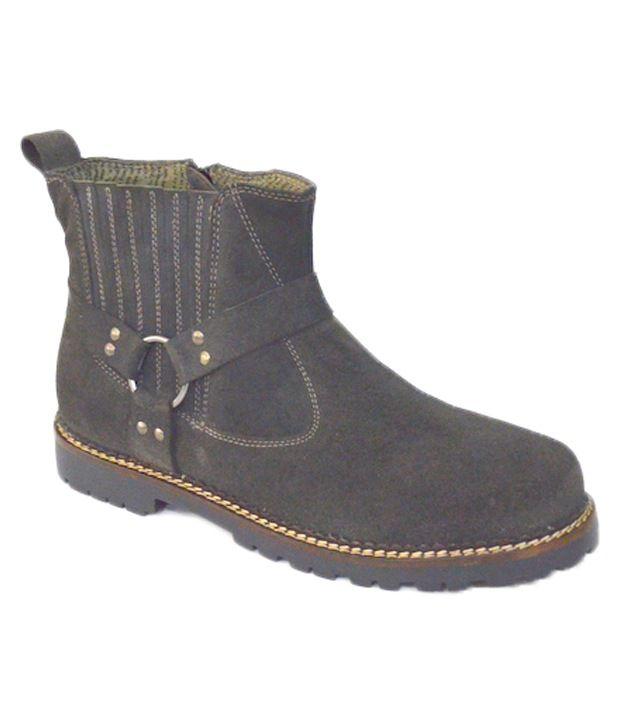 Alpin Gray Boots