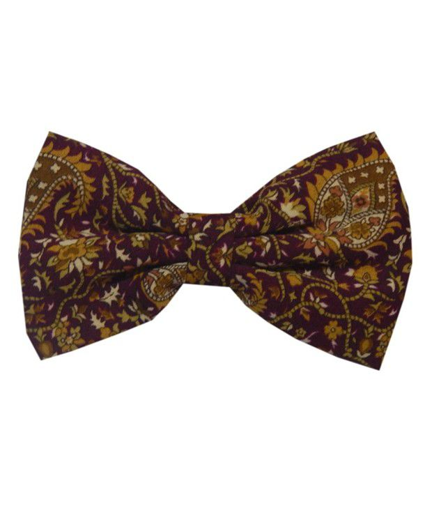 Navaksha Maroon Formal Necktie