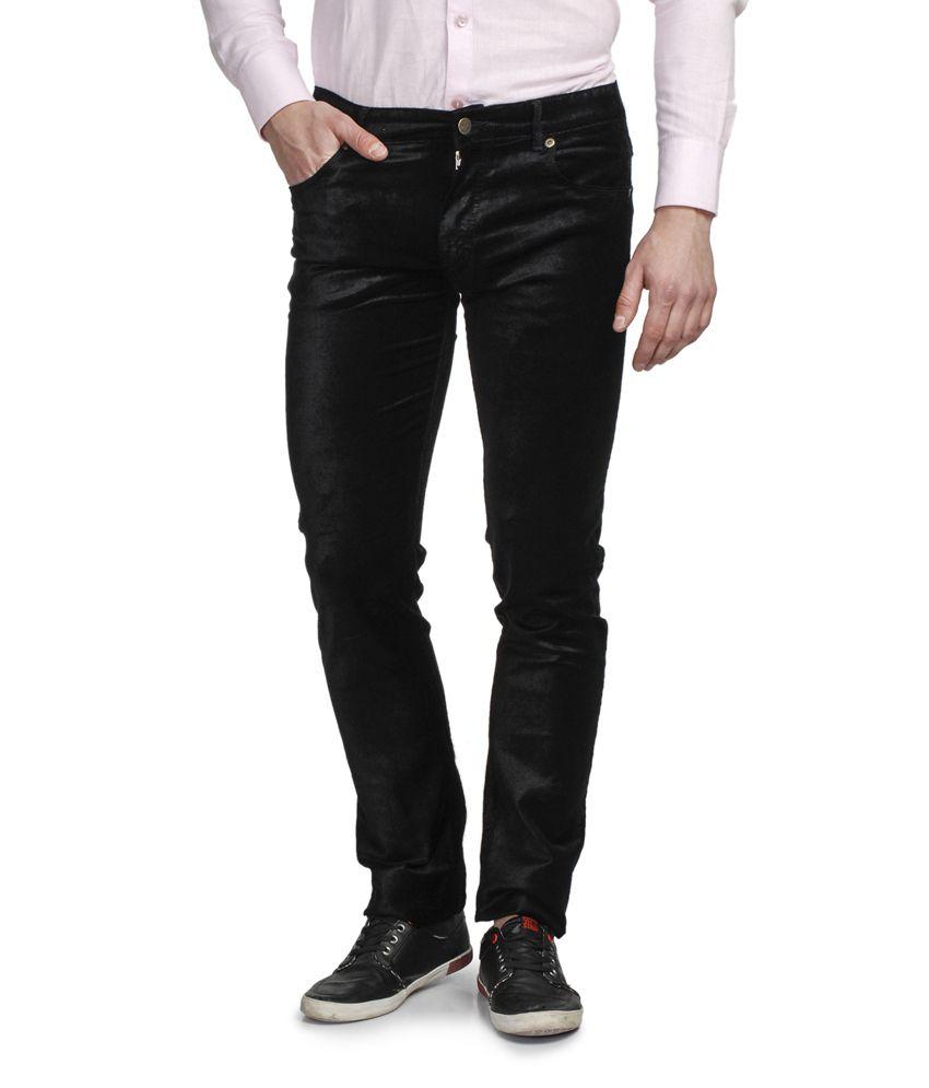Ruace Black Slim Fit Jeans