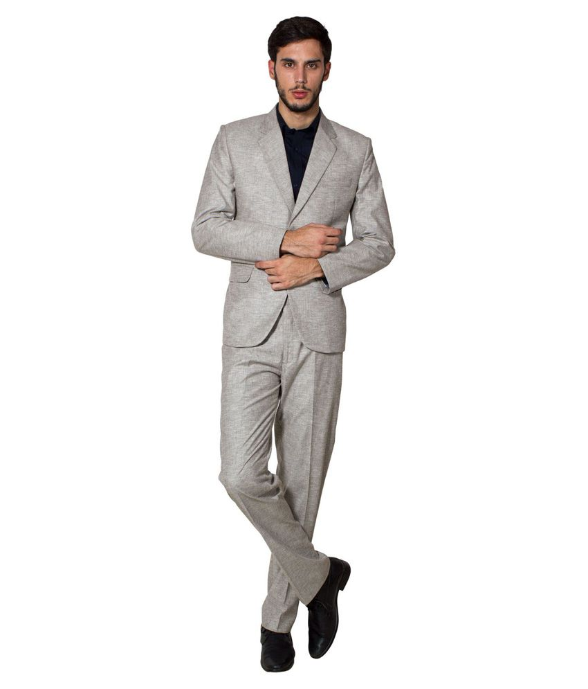 Wintage Grey Formal Suit