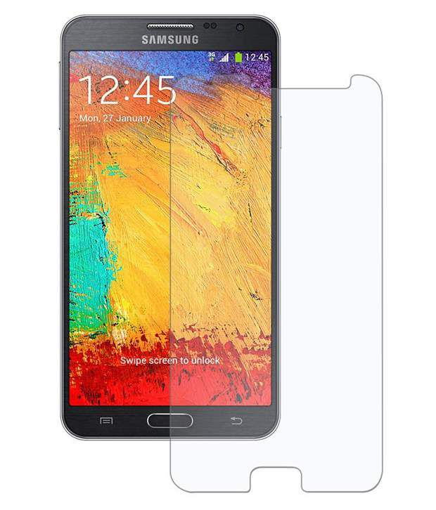 Samsung Galaxy Note 3 Neo N750 - Clear Screen Guard by Uni Mobile Care