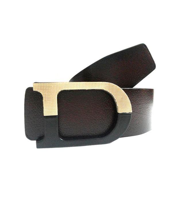 Mode Tan Leather Belt for Men