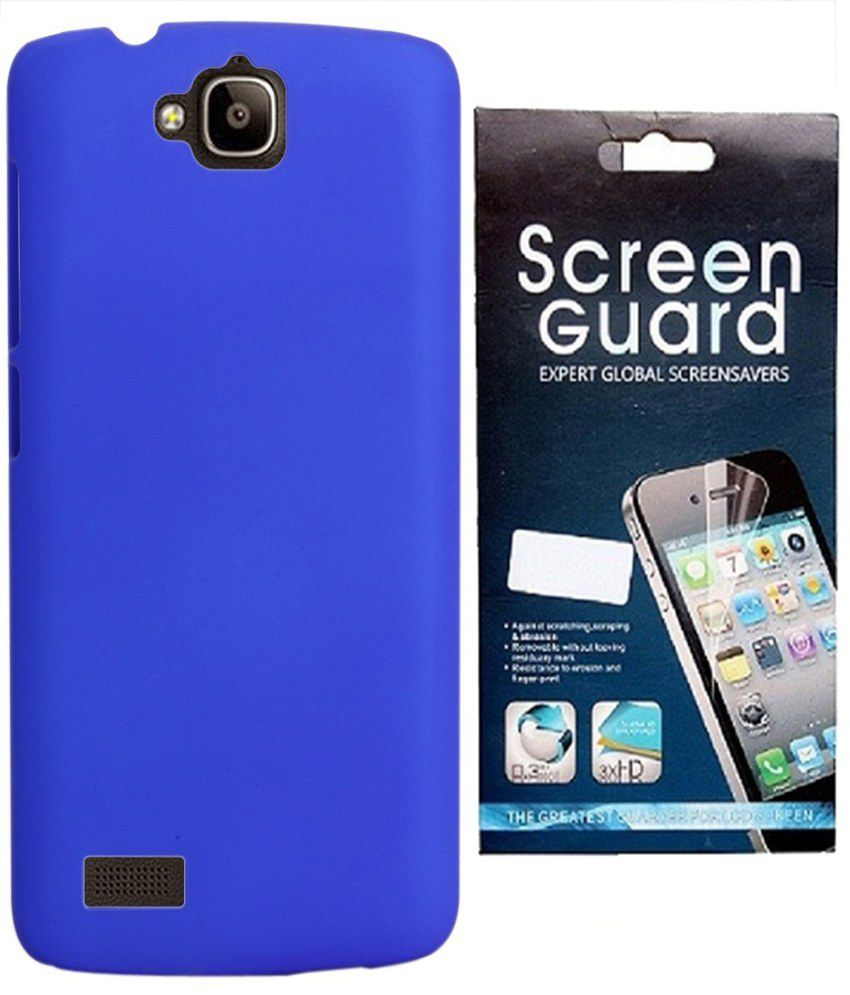 premium selection 1879c 88617 RDcase Hard Shell Back Cover Case With Screen Guard For Huawei Honor Holly  Dual SIM Hol-U19 - Royal Blue