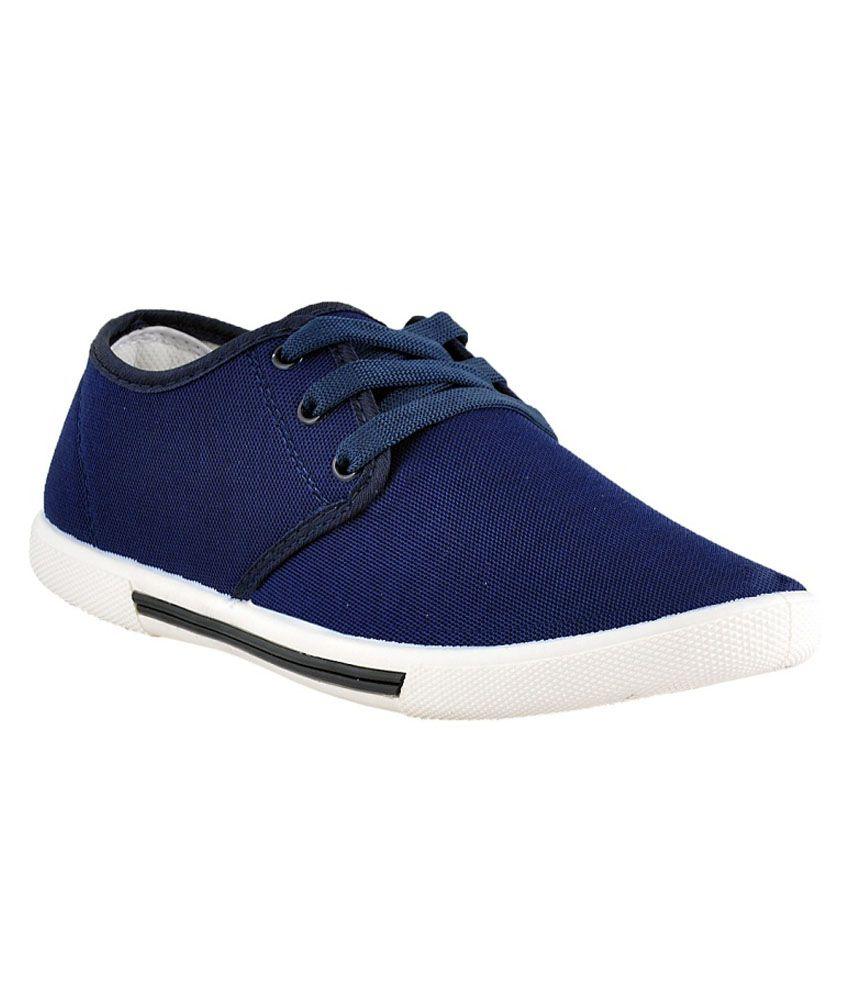 Athlio Blue Sneaker Shoes - Buy Athlio