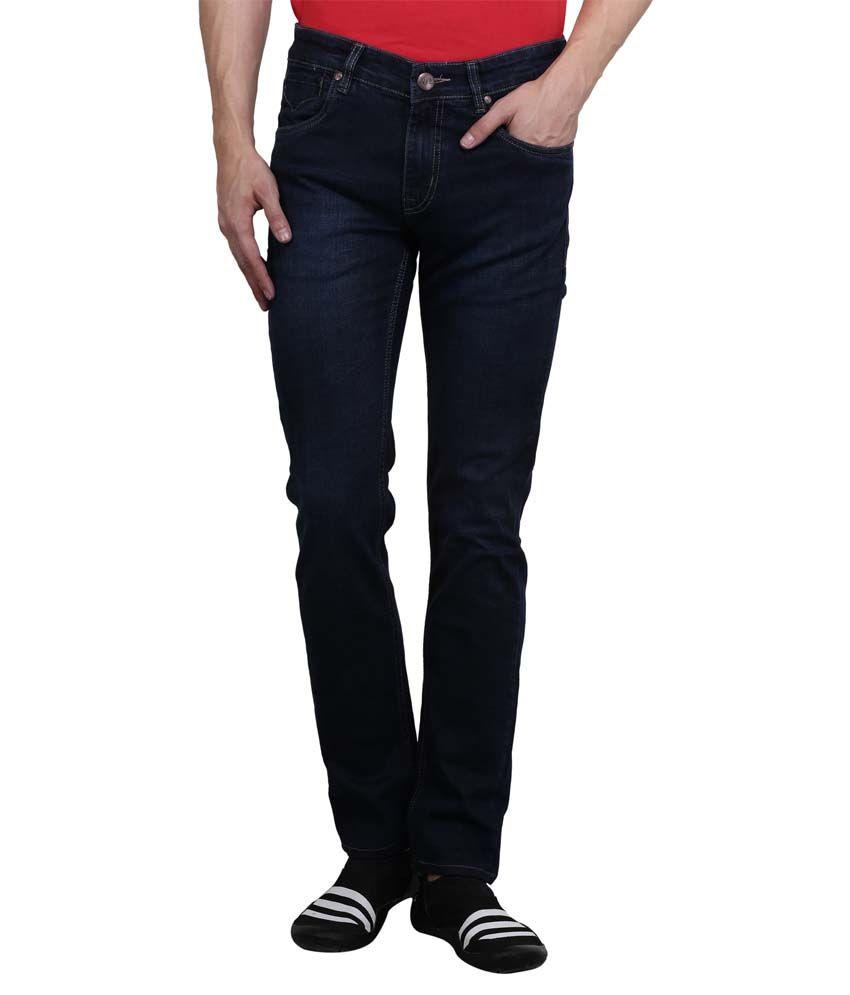 Puffz Navy Slim Fit Jeans