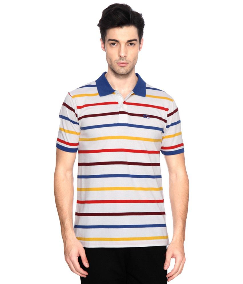 Ajile by Pantaloons Multicolour Casual Activewear Polo T Shirt