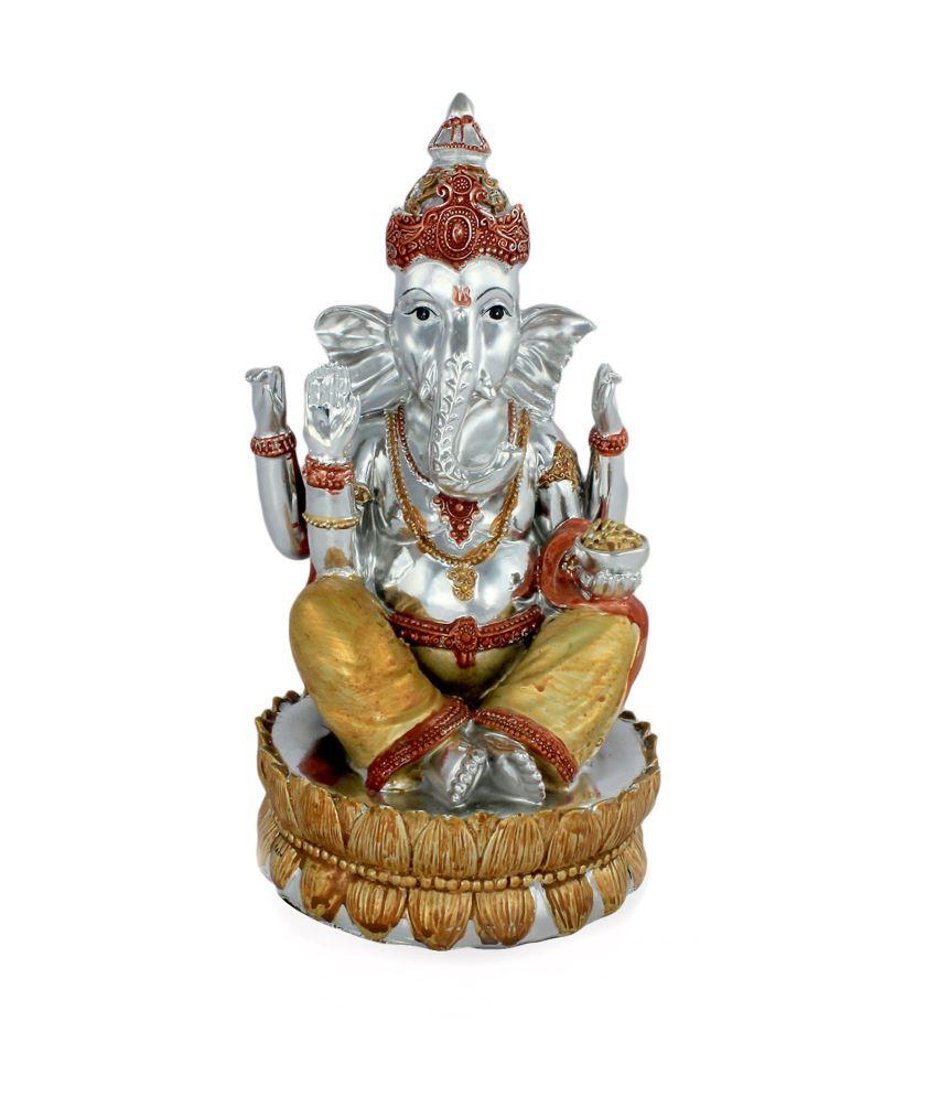 Ray-Pro Silver Ganesha