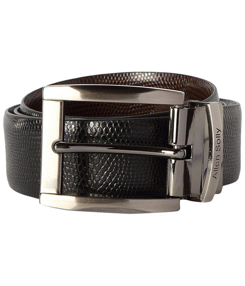 Allen Solly Black Casual Belt