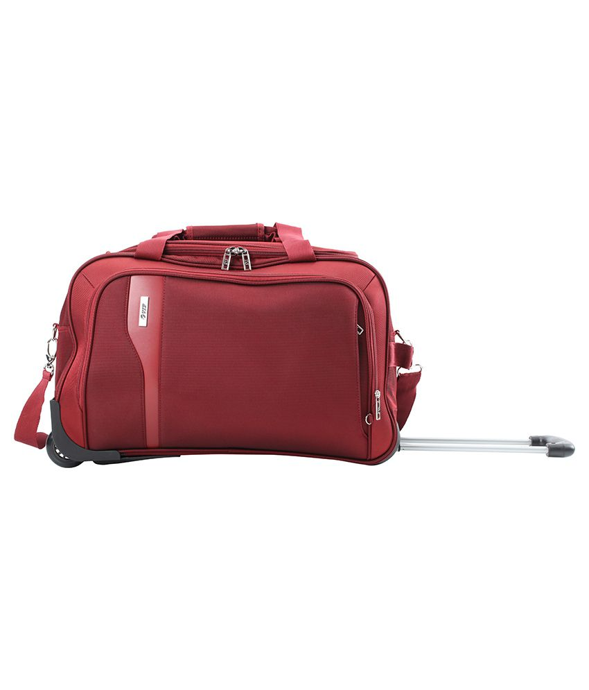 VIP Tuscany II Maroon Check In Soft Luggage