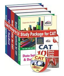 Study Package for CAT & other MBA Entrance Exams with Practice Sets and CD Hardback (English) 1st Edition