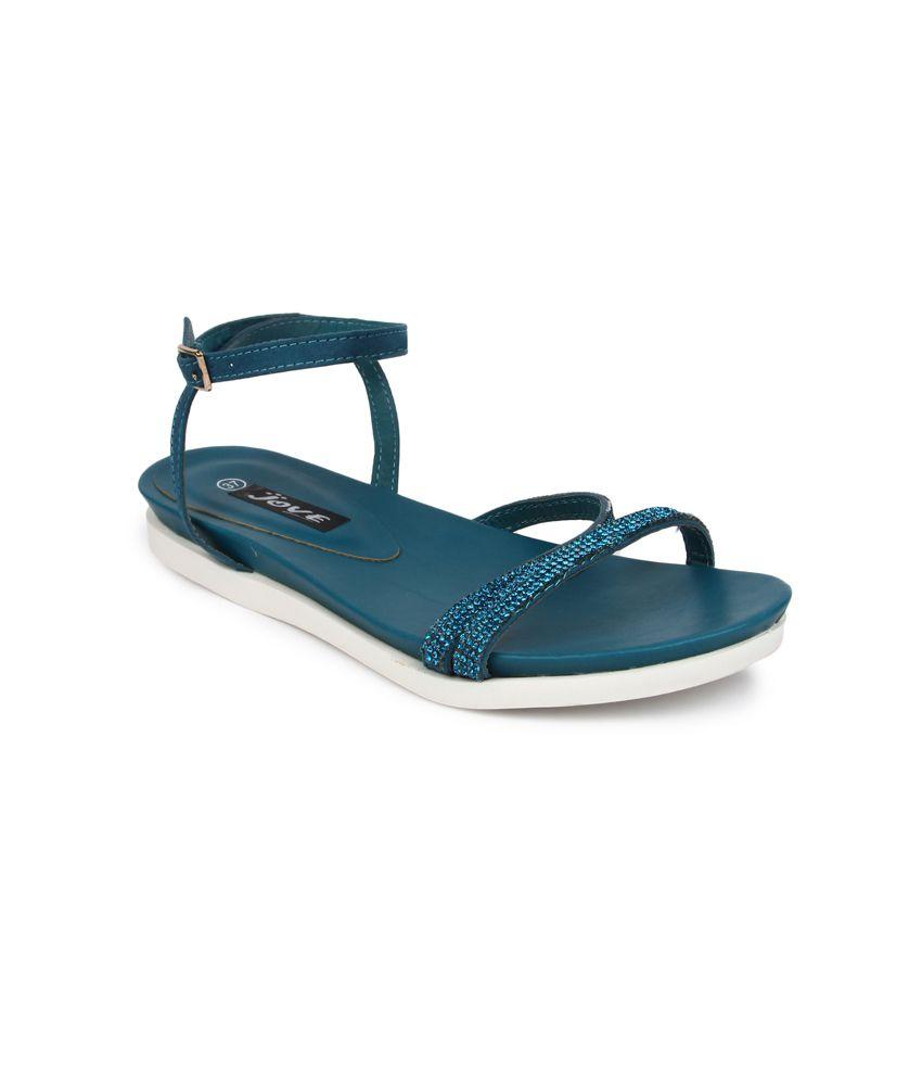 Jove Blue Sandals