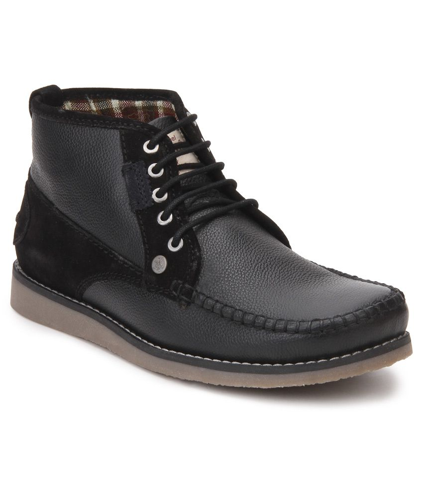 Original Penguin Black Boots