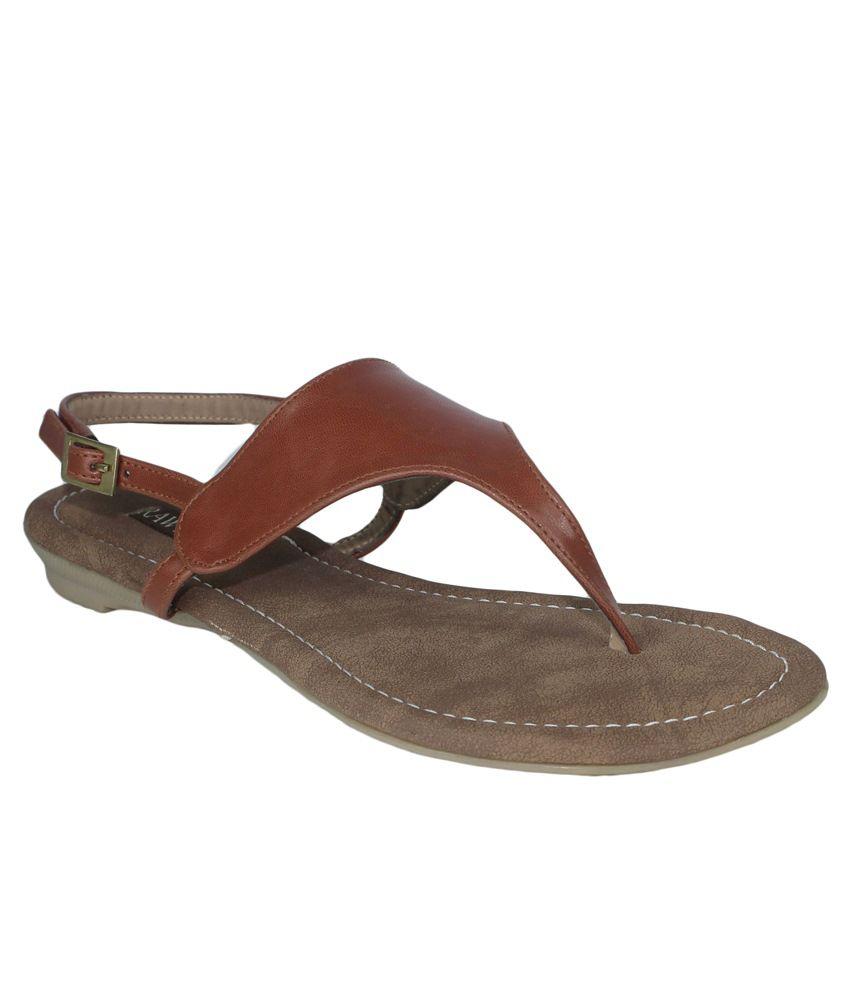 Raw Hide Brown Sandals