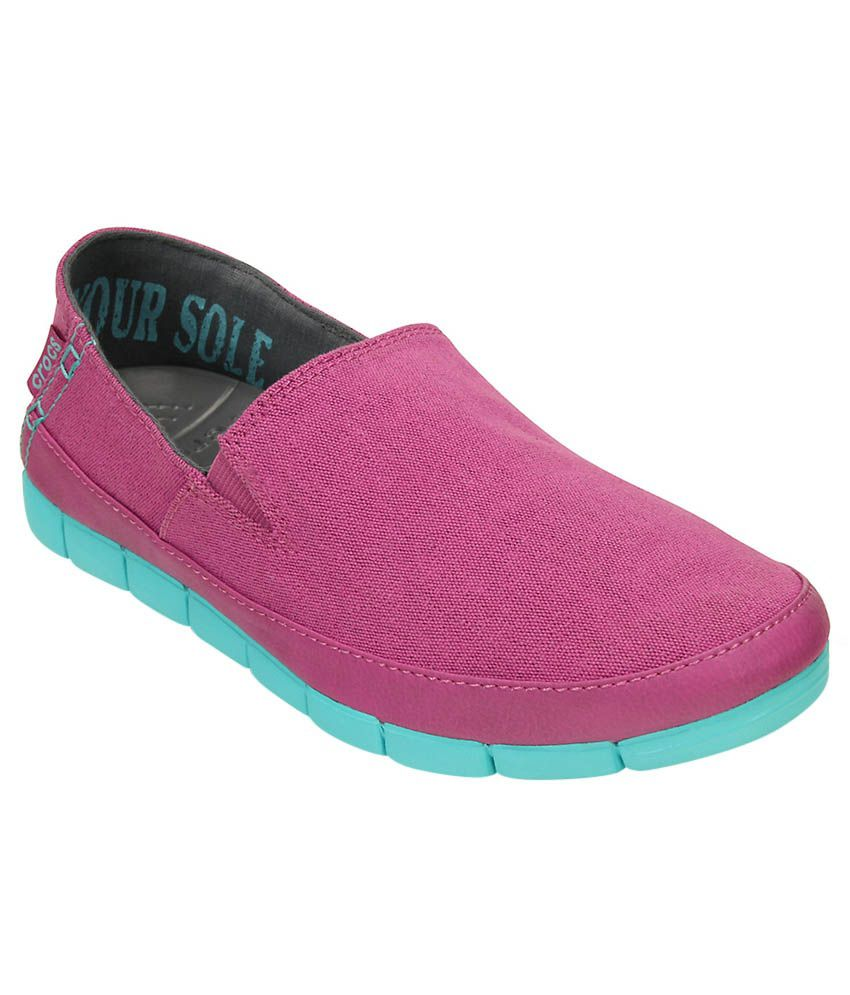 Crocs Purple Casual Shoes Relaxed Fit