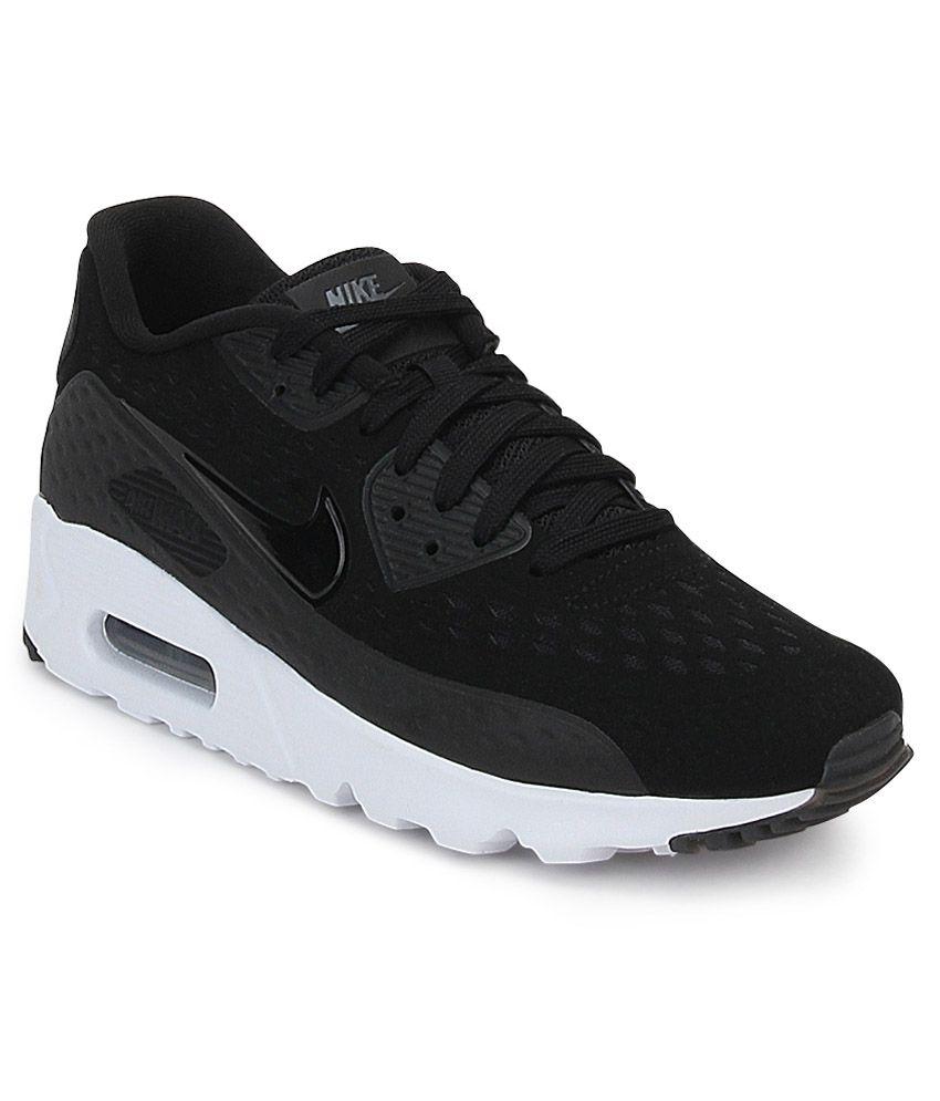 buy popular fa955 1f246 Nike Air Max 90 Ultra Black Sports Shoes